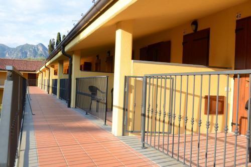 A balcony or terrace at La Perla