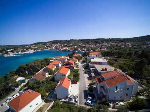 A bird's-eye view of Apartments Villa Olea