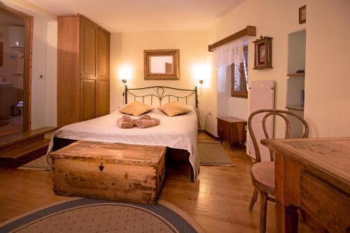 Krevet ili kreveti u jedinici u objektu Kamene Priče Jazz Apartments