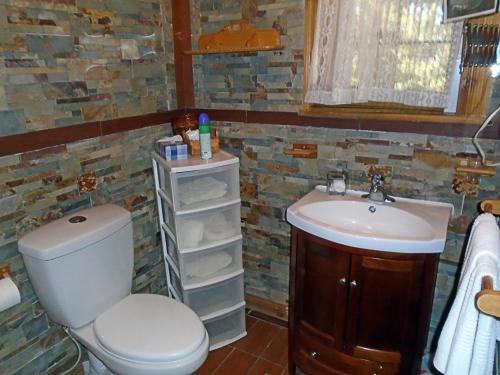 Salle de bains dans l'établissement Gîte La Halte Du Verger Bed and Breakfast