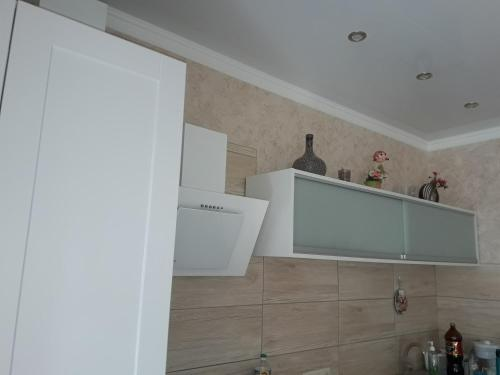Ванная комната в Apartment on Valientina Mosina 10