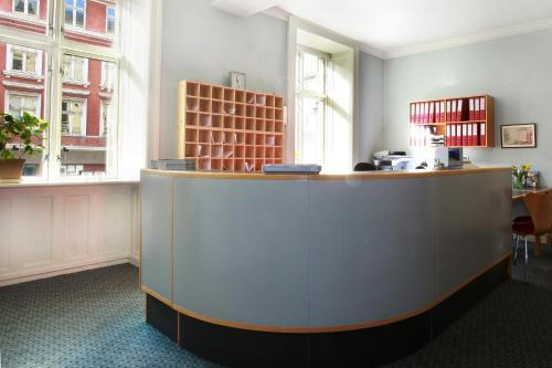 The lobby or reception area at Hotel Nora Copenhagen
