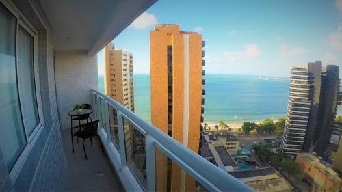 A balcony or terrace at My Way Meireles By DM Apartments