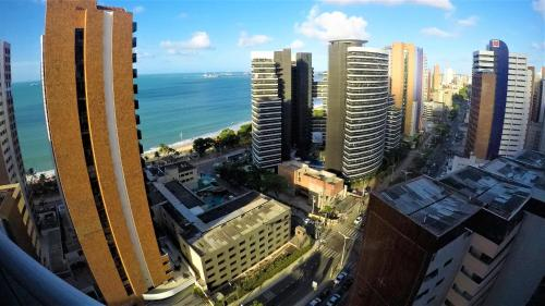 A bird's-eye view of My Way Meireles By DM Apartments