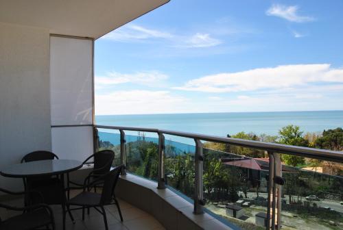 Балкон или терраса в Апартамент на Курортном