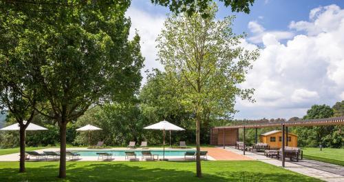 The swimming pool at or near El Nus de Pedra