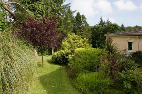 A garden outside Cwmwennol Country House