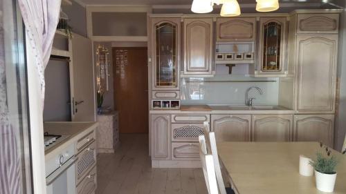 Kuchyň nebo kuchyňský kout v ubytování Pinta