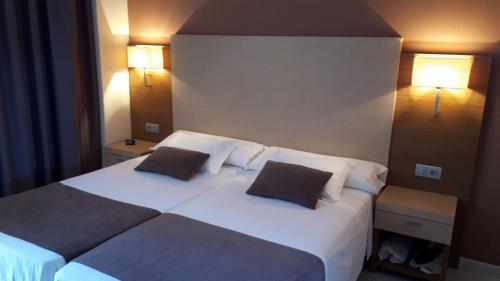 Cama o camas de una habitación en Rosabel
