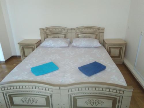 Кровать или кровати в номере Guest House Bereg Morya