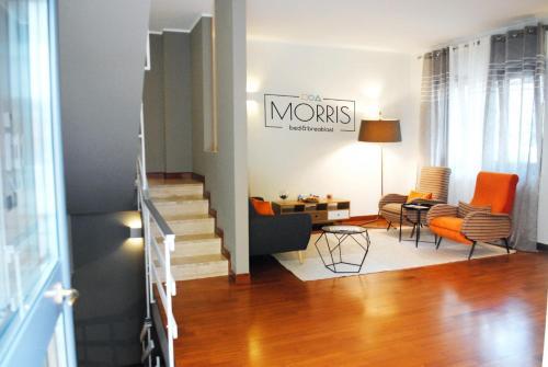 Area soggiorno di Morris Bed & Breakfast