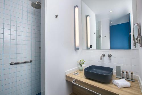 Ein Badezimmer in der Unterkunft Campanile Shanghai Jing An