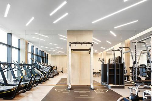 The fitness center and/or fitness facilities at City of Dreams - Morpheus