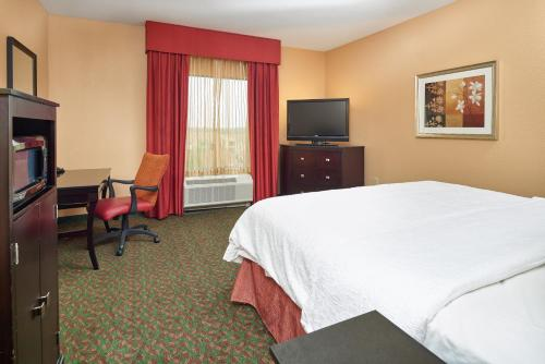 A television and/or entertainment center at Hampton Inn & Suites Waco-South