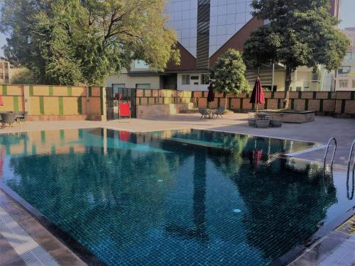 The swimming pool at or near The Fern Residency Udaipur