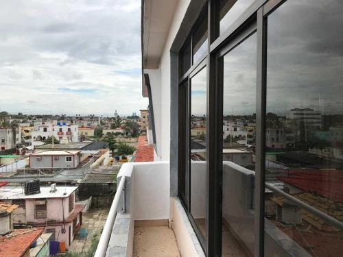A balcony or terrace at Miramar Luxury Penthouse