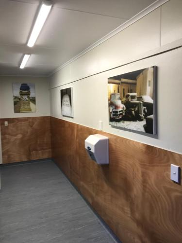 The lobby or reception area at Tongariro Holiday Park