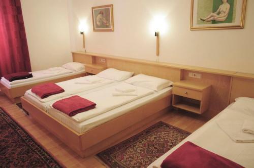Letto o letti in una camera di Albergo Casagrande