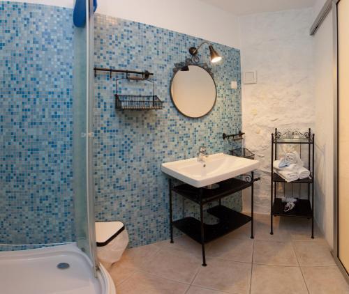 Kupaonica u objektu Bed & Breakfast Vila Baguc