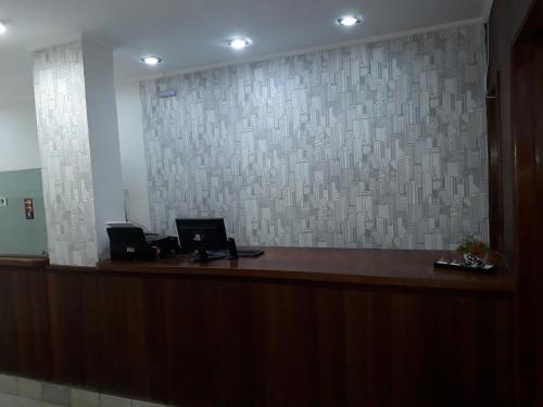The lobby or reception area at Campinas Palace Sao Francisco