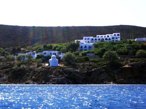 Patmos Paradise Hotel с высоты птичьего полета