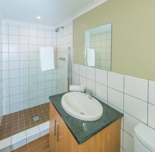 Salle de bains dans l'établissement Dunkeld Country & Equestrian Estate
