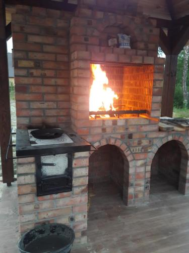 BBQ facilities available to guests at the chalet