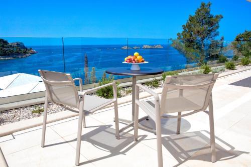A balcony or terrace at Villa Malo More