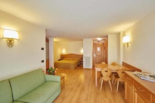 Area soggiorno di Hotel Residence 3 Signori