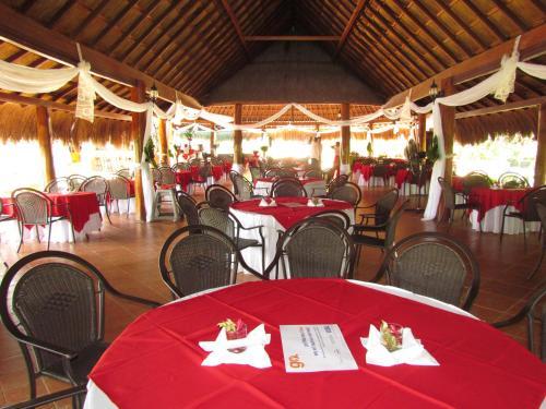 Restaurant ou autre lieu de restauration dans l'établissement Hotel Campestre Villa Martha