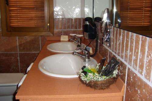A bathroom at Hotel Palacio Dos Olivos