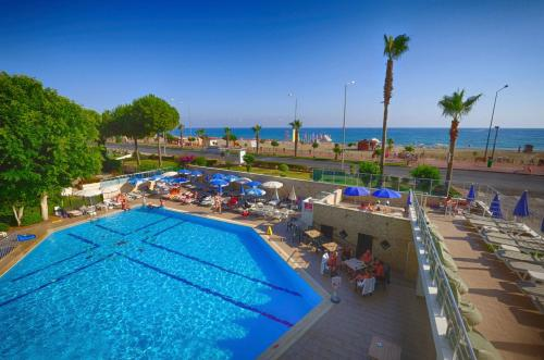 A view of the pool at Blue Sky Hotel - All Inclusive or nearby