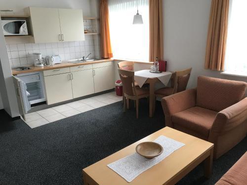 Küche/Küchenzeile in der Unterkunft Arp's Gasthof