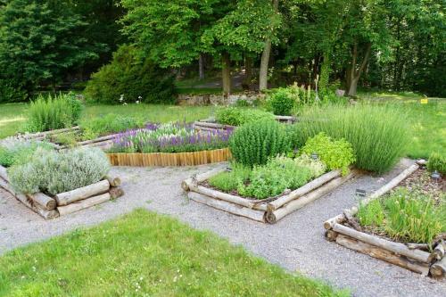 A garden outside Kloster Neustadt