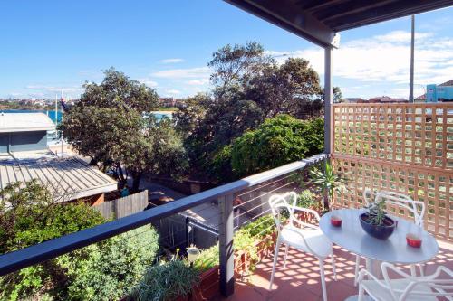 A balcony or terrace at Luxury on Bondi Beach