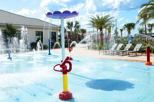 The swimming pool at or close to 5Bd Sleeps 15 w/ GameRoom and Pool Close to Disney 4921