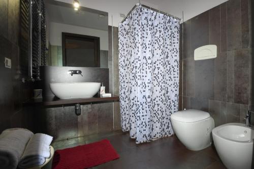 Kylpyhuone majoituspaikassa La Torre-1984