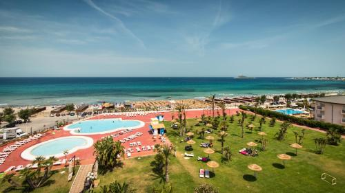 A bird's-eye view of Saracen Sands Hotel & Congress Centre - Palermo
