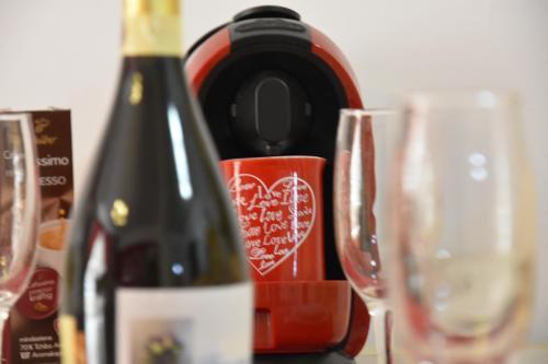 Băuturi la Apartament Red Mirage