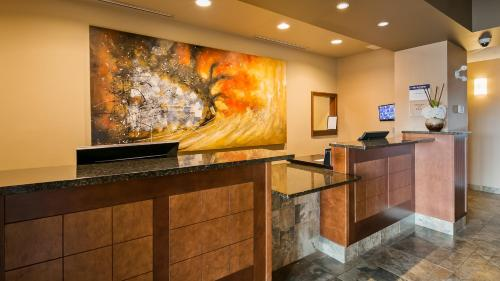 The lobby or reception area at Best Western Plus Service Inn & Suites