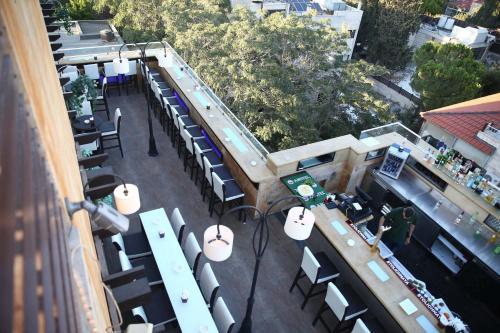 Hisham Hotel a vista de pájaro