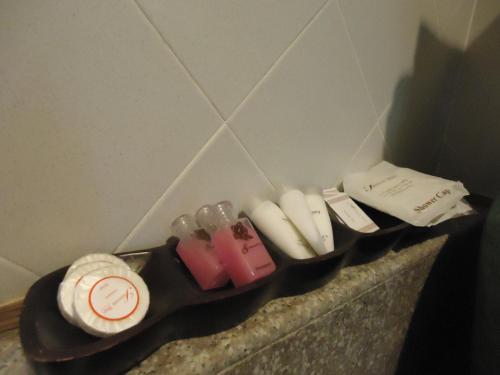 A bathroom at Saimoonbury Resort
