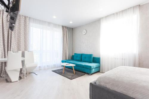 Гостиная зона в Apartment на Ленинском проспекте, Колибри в Центре
