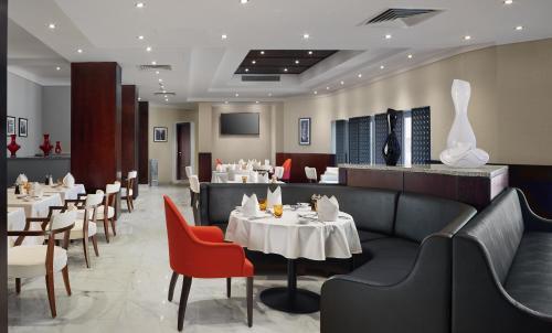 مطعم أو مكان آخر لتناول الطعام في هيلتون الإسكندرية جرين بلازا