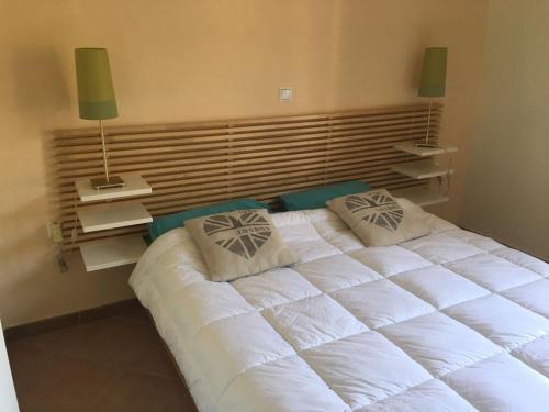 Кровать или кровати в номере Santafemia