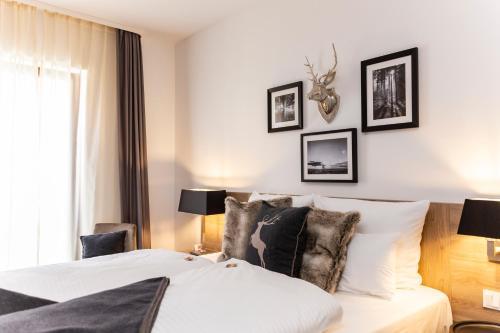 Кровать или кровати в номере Best Western Plus Hotel Ostertor