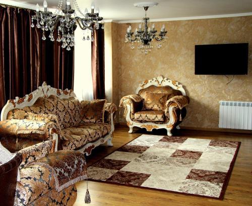 A seating area at Diadema Sheremetyevo
