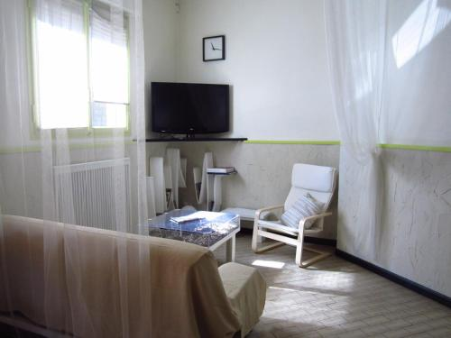 A television and/or entertainment center at Albergo San Pietro