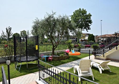 Children's play area at Residenza La Ricciolina