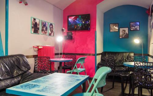 Restaurace v ubytování Hostel Prague Tyn